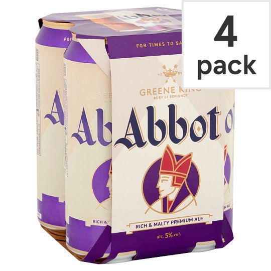 Abbot Ale Strong Bitter 4X500ml Cans