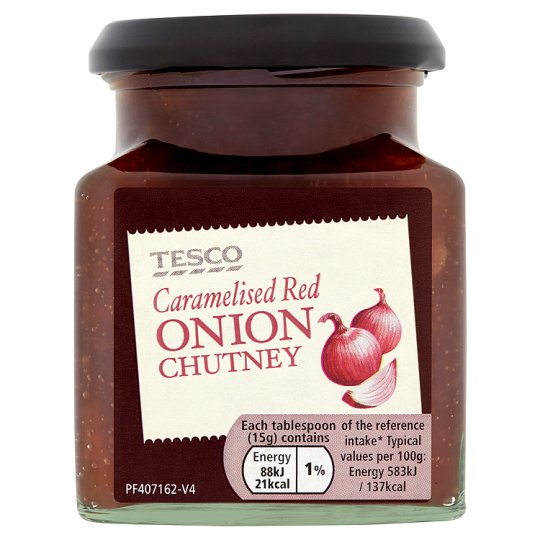 Tesco Caramelised Onion Chutney 280G