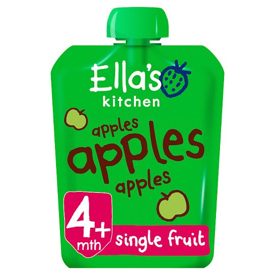 Ella's Kitchen Apples Apples Apples 70G