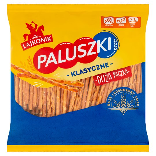 Lajkonik Paluszki Salted Sticks 300G