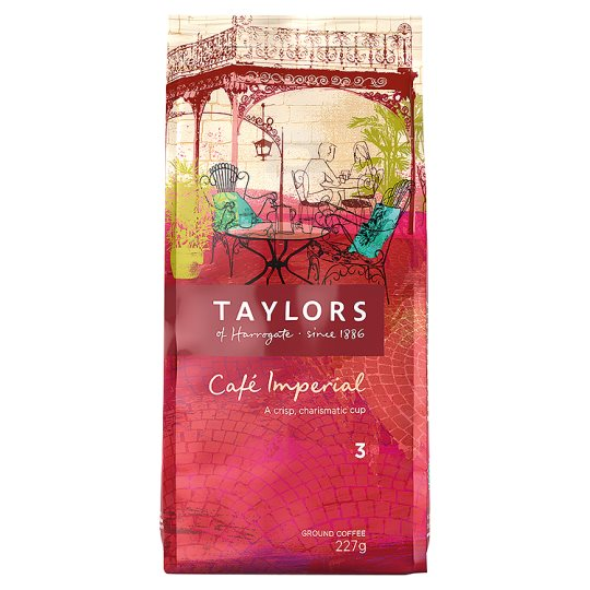 Taylors Cafe Imperial Ground Coffee 227G
