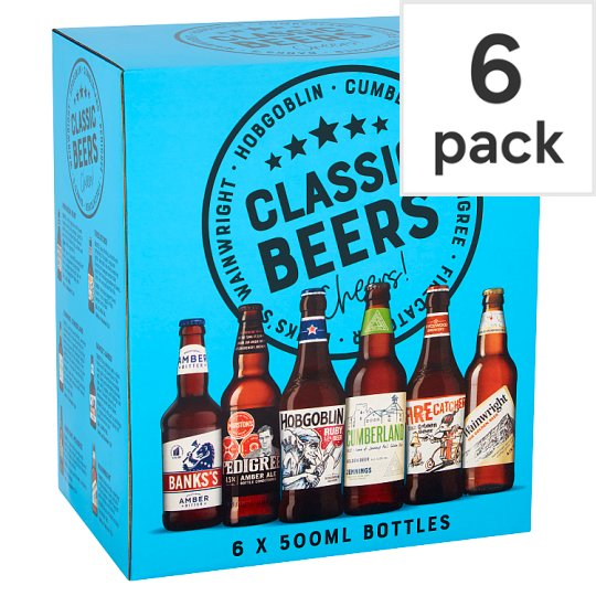 Marstons Classic Ales 6X500ml