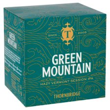 Thornbridge Green Mountain 4 X 330Ml Can