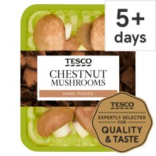 image 1 of Tesco Chestnut Mushrooms 250G