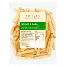 Counter Artisan Bread Co Garlic & Basil Sticks 100G
