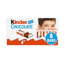 image 1 of Kinder Chocolate Multipack Bars 8 X12.5G