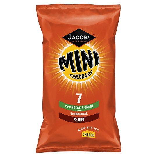 Jacobs Mini Cheddars Variety 7 Pack