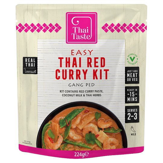 Thai Taste Red Curry Meal Kit 224G