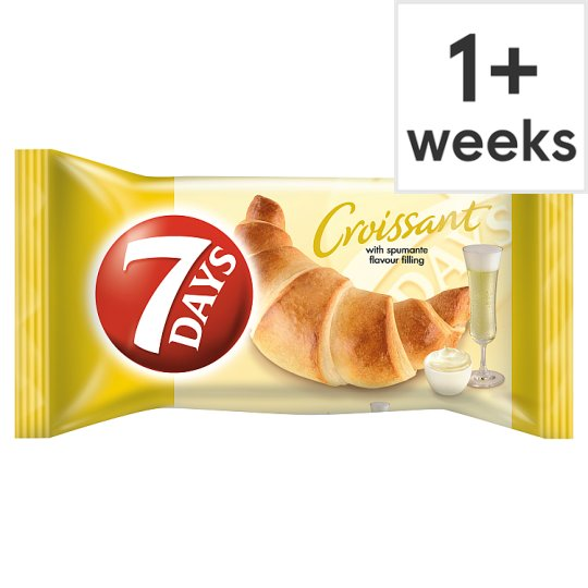 7 Days Croissant With Spumante Filling 60G