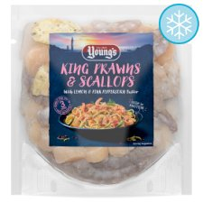 Youngs King Prawn And Scallop Butter Sauce 200G