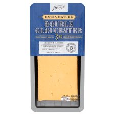 Tesco Finest Extra Mature Double Gloucester Cheese 200G