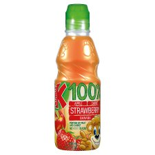 Kubus Banana And Strawberry 100% Drink 300Ml