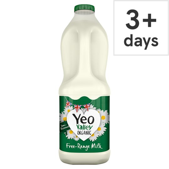Yeo Valley Organic Semi Skimmed Milk 2L