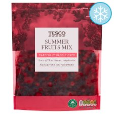 Tesco Summer Fruits Mix 500G