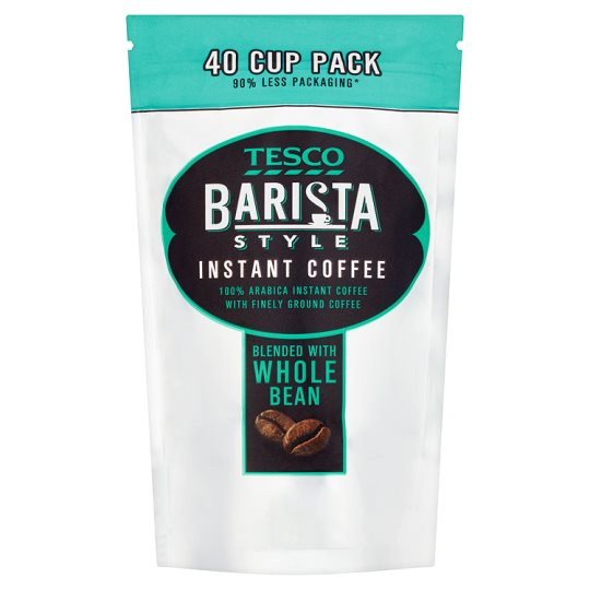 Tesco Barista Style Instant Coffee Refill 80G
