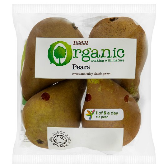 image 1 of Tesco Organic Selected Pears 450G