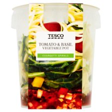 Tesco Tomato And Basil Vegetable Pot 230G
