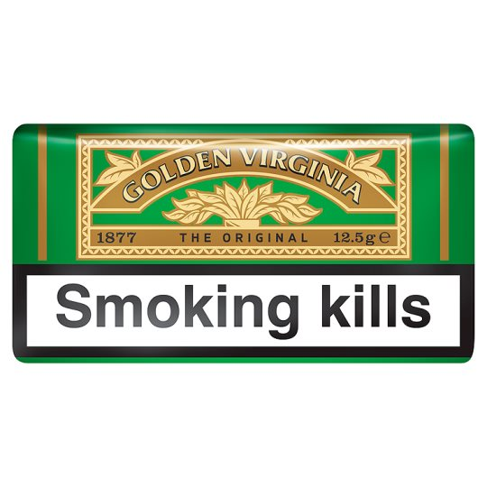 Golden Virginia Green Pouch Tobacco 12.5G