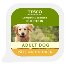 Tesco Chicken Dog Food Pate 300G