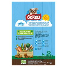 image 2 of Bakers Dog Food Chicken And Vegetables 1.2Kg