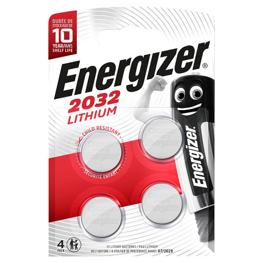 Energizer 4 Pack Specialist 2032
