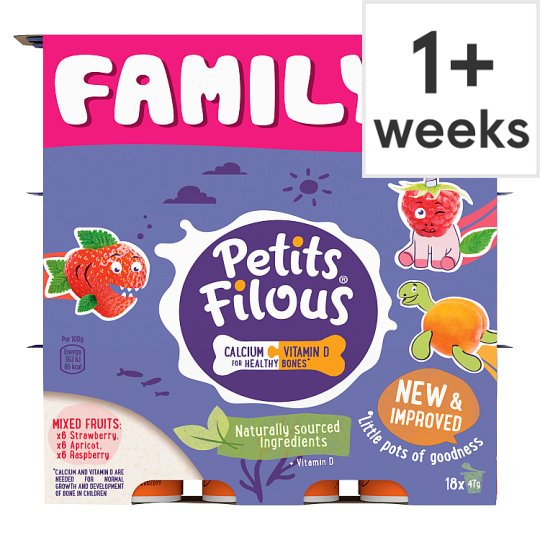 image 1 of Petits Filous Variety Fromage Frais 18 X47g