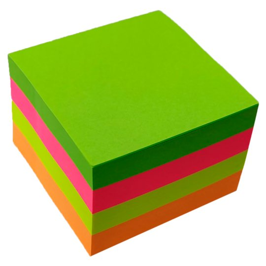 Tesco Sticky Notes 350 Sheets 50Mm X 50Mm