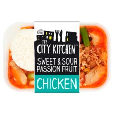 The City Kitchen Sweet Sour Passion Chicken 380G