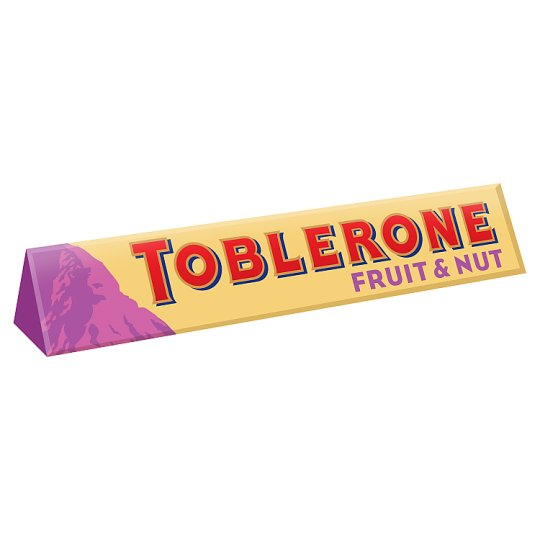 Toblerone Fruit Nut Chocolate Block 360G