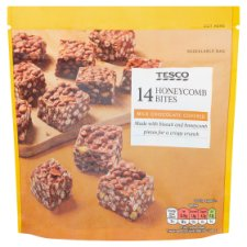 Tesco 14 Honeycomb Bites
