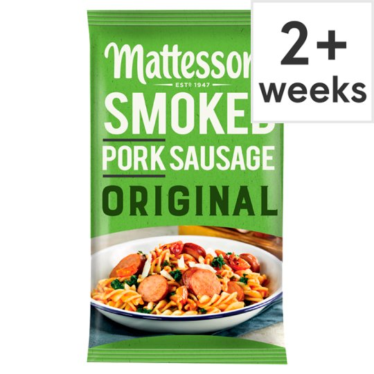 Mattessons Smoked Pork Sausage Original 200G