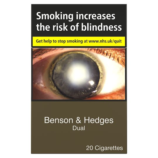 Benson And Hedges Dual King Size 20 Pack