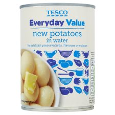 Tesco Everyday Value New Potatoes 567G