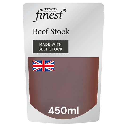 Tesco Finest Beef Stock 450Ml
