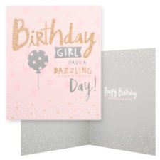 Hallmark Birthday Card Birthday Girl Have A Dazzling Day!