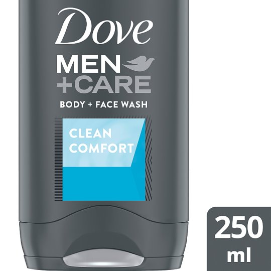 Dove Men Clean Comfort Body And Face Wash 250Ml
