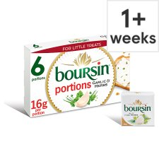 Boursin Garlic And Herb Cheese 6 Pack, 96 G