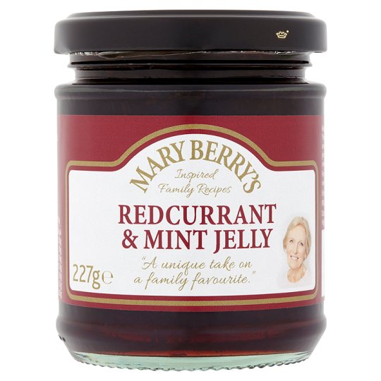Mary Berry's Redcurrant And Mint Jelly 227G