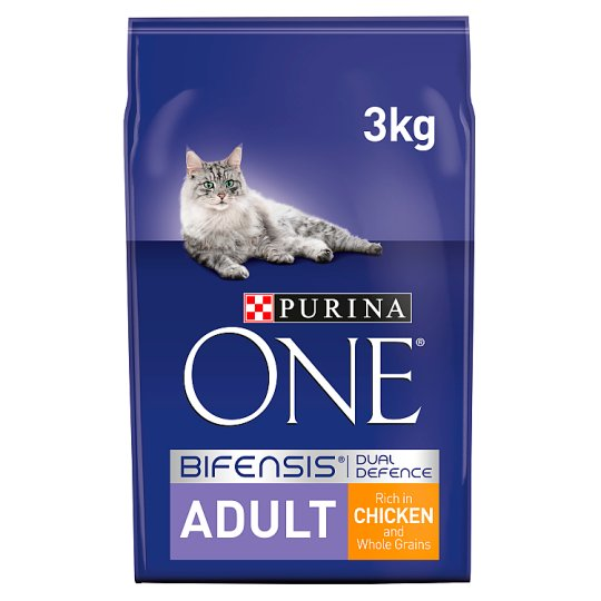 image 1 of Purina One Cat Adult Chicken And Whole Grains 3Kg