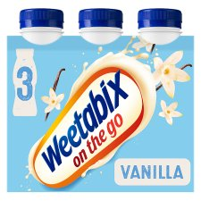 Weetabix On The Go Vanilla Drink 3 X250ml
