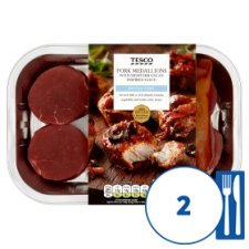Tesco Pork Medallion With Mediterranean Sauce 450G