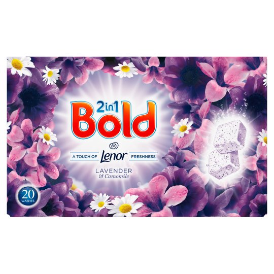Bold Washing Tablets Lavender And Camomile 20 Washes