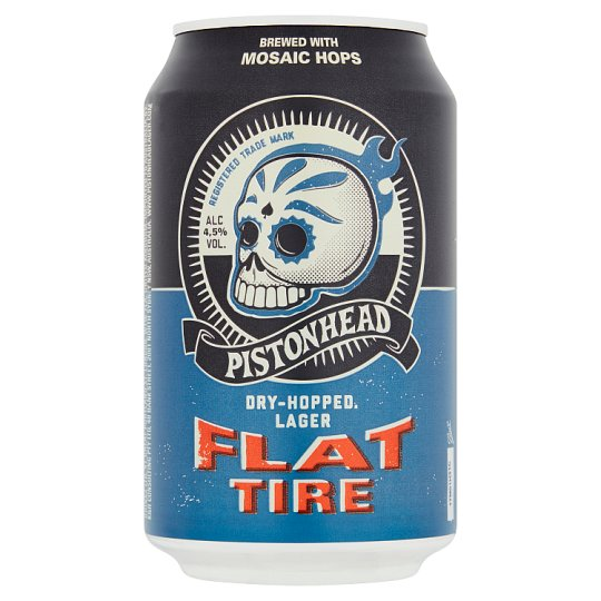 Pistonhead Flat Tire Craft Lager 330Ml - Tesco Groceries