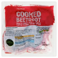 Tesco Cooked Beetroot Vacuum Pack 300G