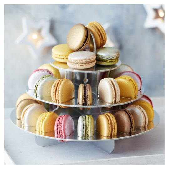 Tesco French Macaron Tower 36 Pack, serves 12
