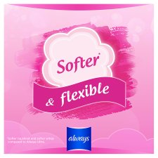 image 2 of Always Sensitive Long Size 2 Sanitary Towels With Wings 12 Pack