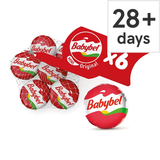 Mini Babybel Original Cheese 6 Pack, 120 G