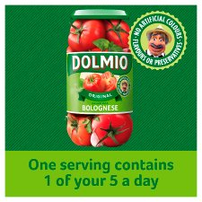 image 2 of Dolmio Bolognese Original Low Fat Pasta Sauce 500G
