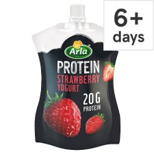 Arla Protein Strawberry Pouch Yogurt 200G