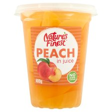 Nature's Finest Peach In Juice 400G